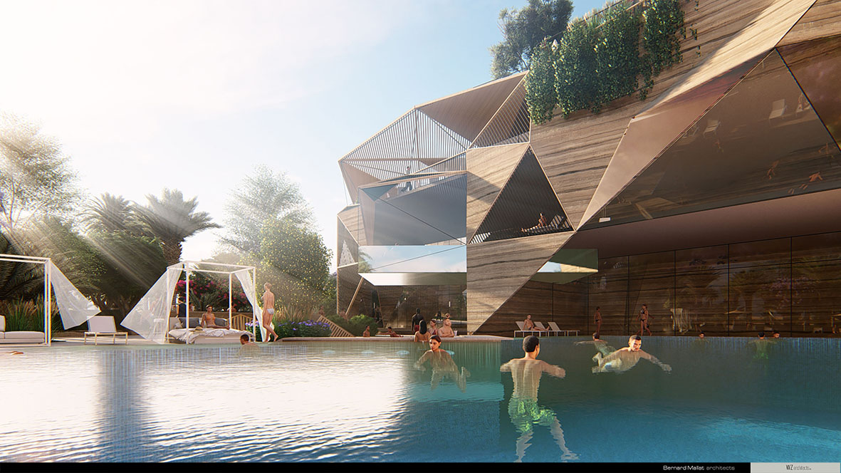 Architecture | ENTERTAINMENT HUB CLUB | Project Photo